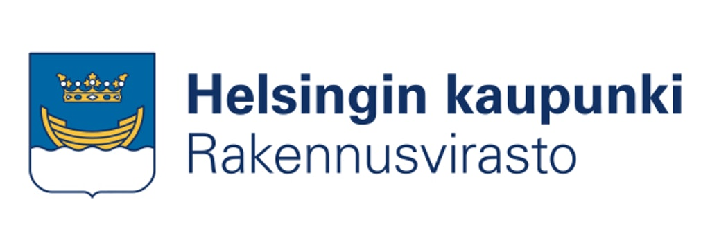 Logo Helsingin Kaupungin Rakennusvirasto