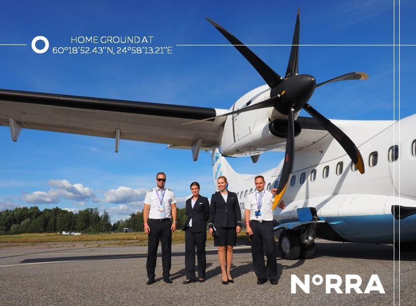 Tunnelmakuva N°RRA - Nordic Regional Airlines