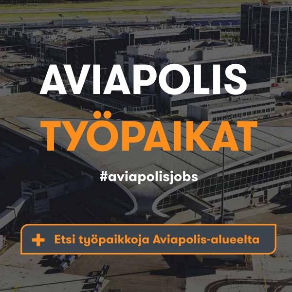 Aviapolis-alueen työpaikat