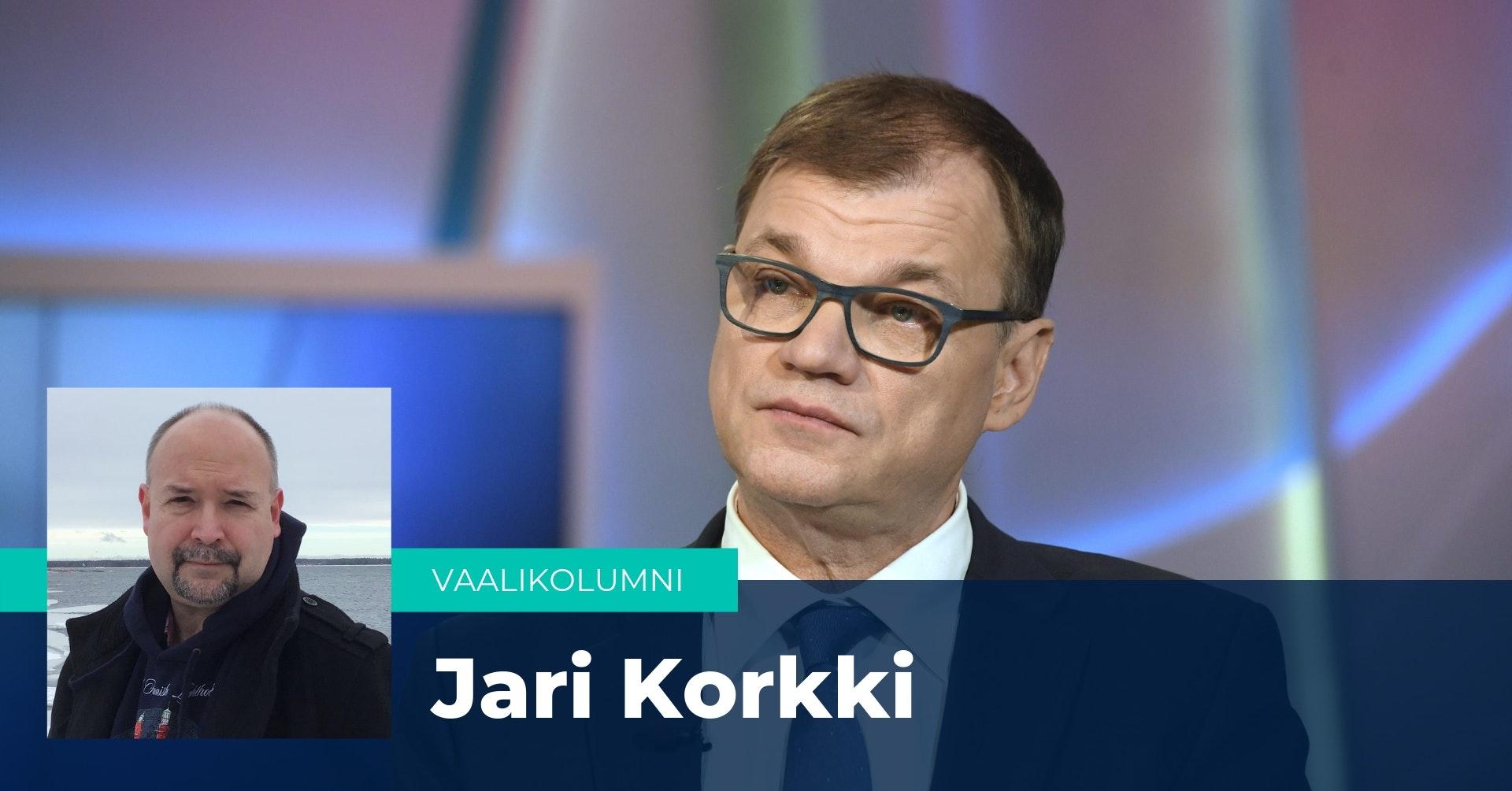Jari Korkki kirjoittaa kolumnissaan, että Sipilän jättämä eronpyyntö vapautti kansanedustajat työnhakuun.