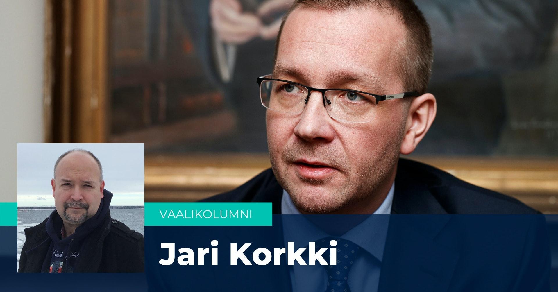 Jari Korkki ruotii kolumnissaan paikallista sopimista.
