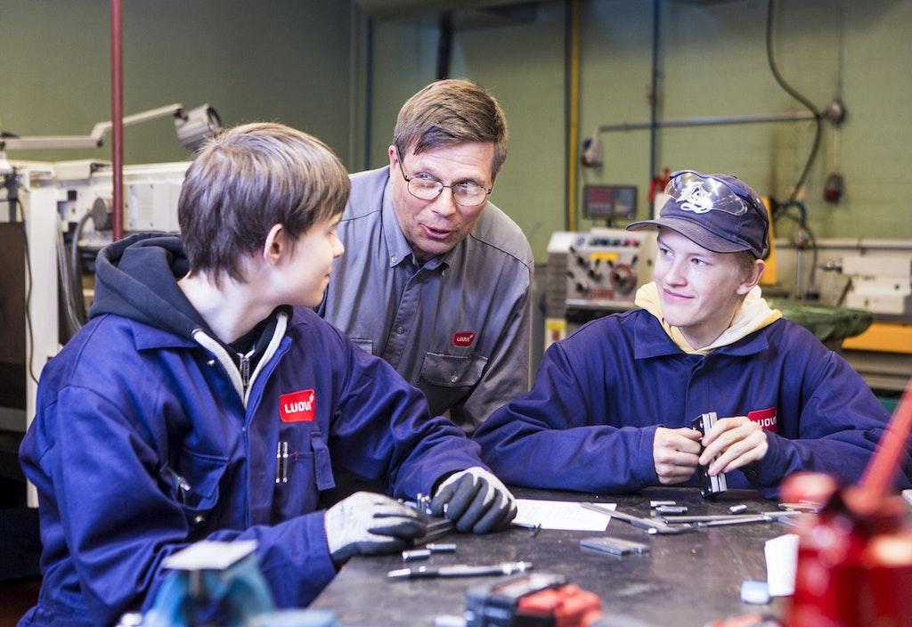 Ammattiopisto Luovi tarjoaa ammatillista opetusta erityistä tukea tarvitseville.