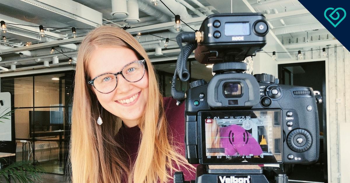 Valot, kamera, käy! 6 vinkkiä hyvän videohakemuksen tekemiseen